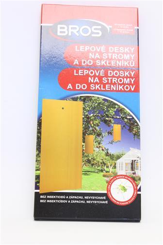 Bros lepové desky na stromy a do skleníku 10 ks
