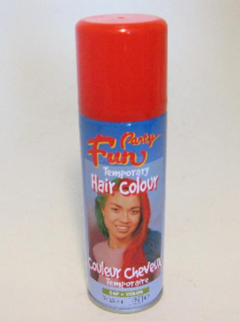 Fun Hair colour červená 125ml