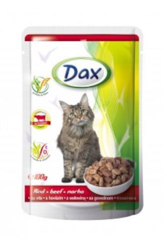 Dax kapsička s hovězím kočka100 g