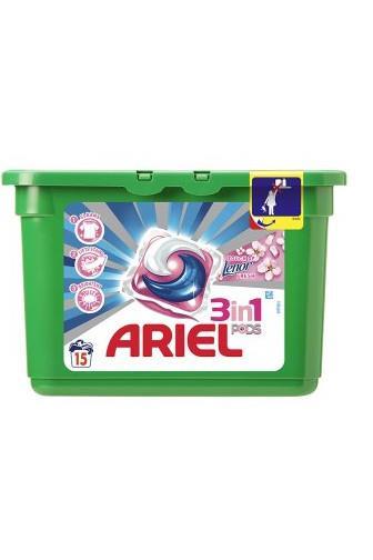 Ariel All in1 lenor unstoppbles 12ks