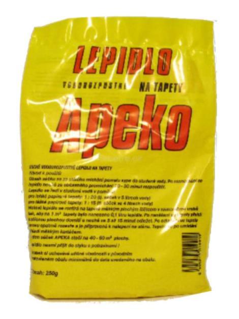 Apeko práškové disperzní lepidlo na tapety 250 g