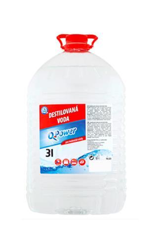 Q power Destilovaná voda 3 l