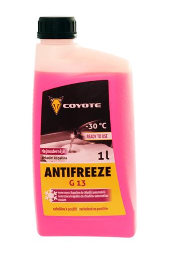 Coyote Antifreeze G13 READY -30st.C 1°l