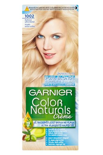 Garnier Color Naturals Créme barva na vlasy 1001 Pure Blonde