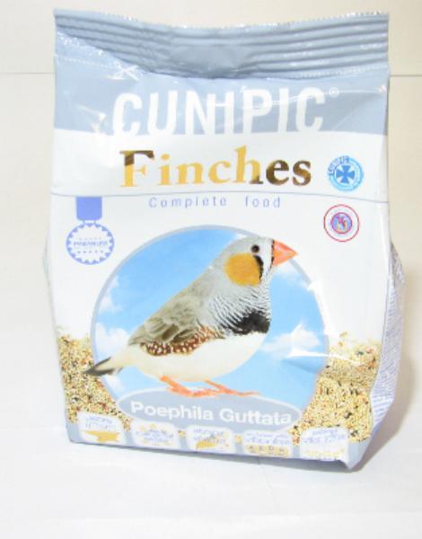 Cunipic kompletní krmivo pro zebřičky 650g