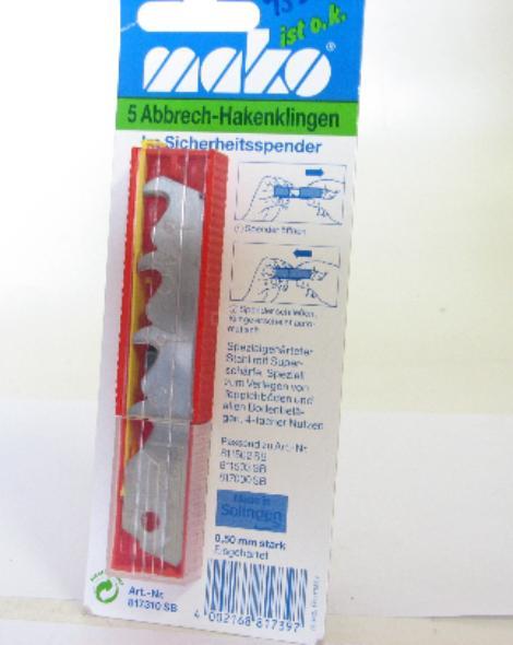 náhradní nůž (hák) 5ks 0,5mm
