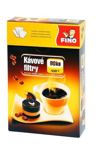 Fino kávové filtry č.4 80ks