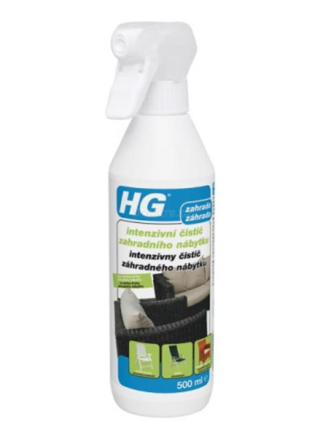 HG intezivní čištič zahradního nábytku 500 ml