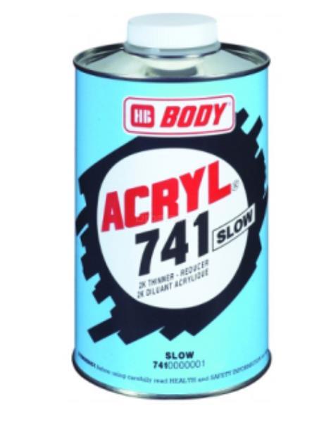 Body Acryl 741 akryl. ředidlo pomalé 1l