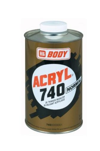 Body Acryl 740 normal ředidlo 1l