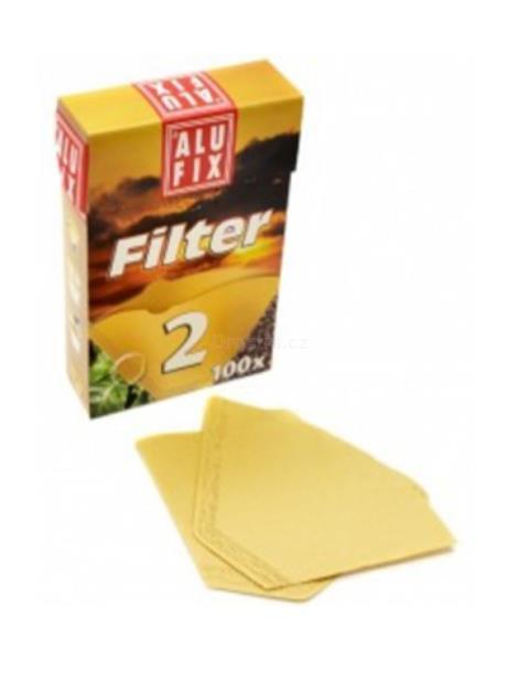 Alufix kávové filtry č.2 100 ks