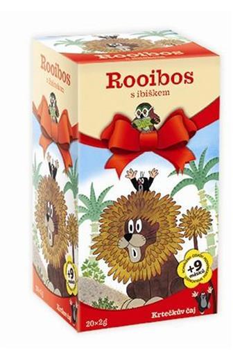 Krtečkův čaj Rooibos s ibiškem 20 x 2 g