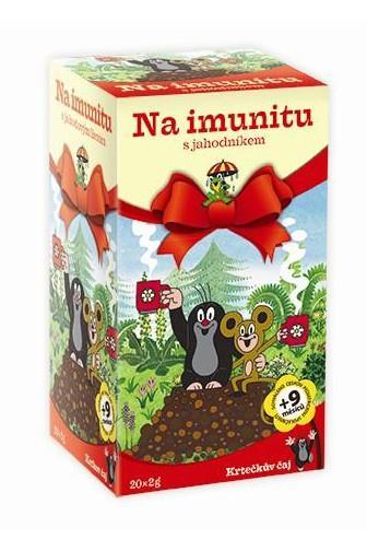 Krtečkův čaj Na imunitu s jahodníkem 20 x 2 g