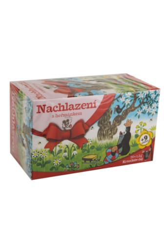 Krtečkův čaj Nachlazení s heřmánkem 20 x 1,5 g