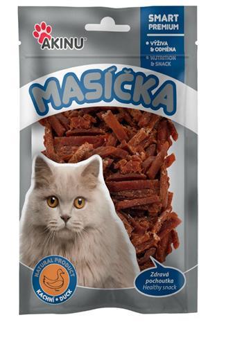 Akinu kachní nudličky pro kočky 50 g