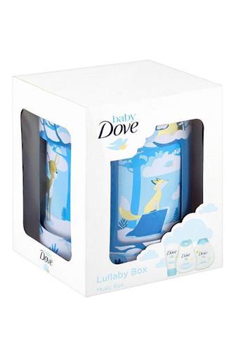 Dove baby hrací skříňka (šampon + tělové mléko 200 ml + krém 45 g)