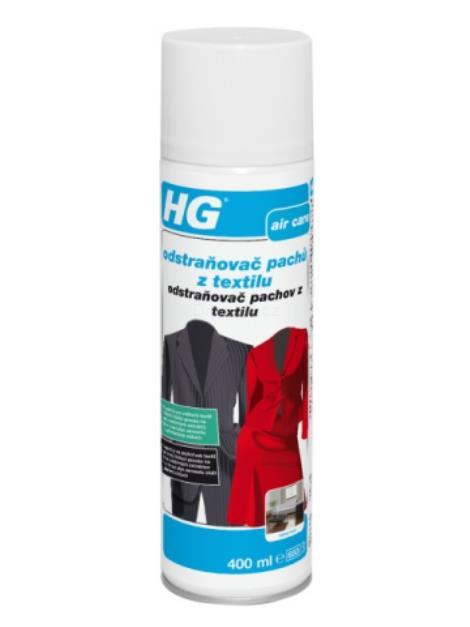 HG Odstraňovač pachů z textilu 0.4l