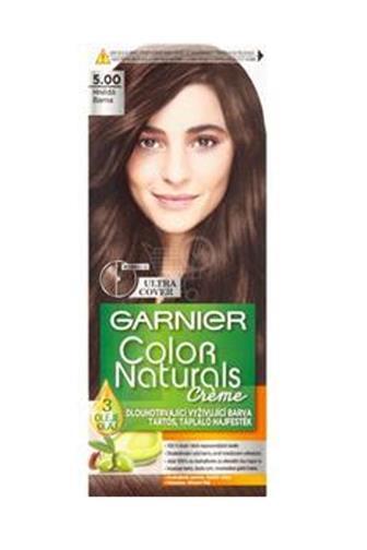 Garnier Color Naturals Créme barva na vlasy hnědá 5.00