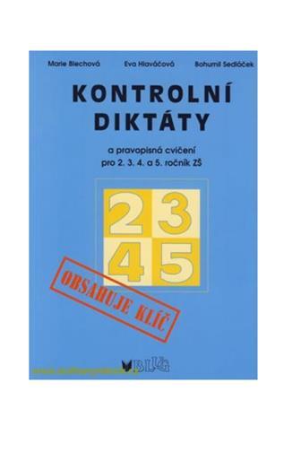 Kontrolní diktáty 2.3.4.5.ročník