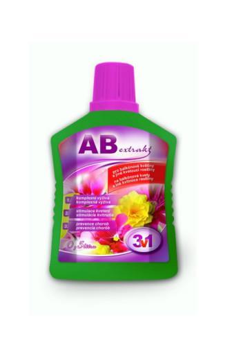 AB extrakt 3v1 výživa pro balkonové květiny 0.5 l