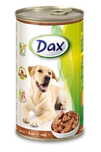 Dax s játry krmivo pro psy 1240 g