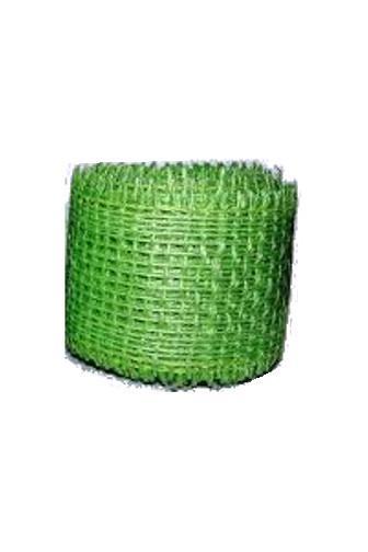 Jutová stuha 4cm x 3m světle zelená