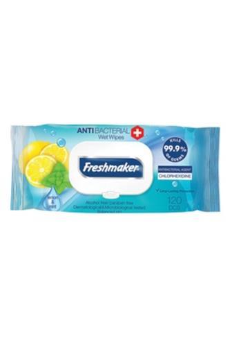 Freshmarker anibakteriální ubrousky 120 ks