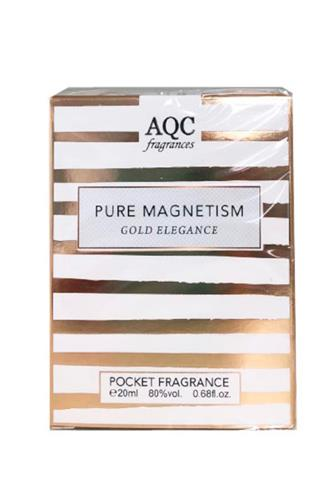 AQC Pure magnetism Gold women EdT 20 ml