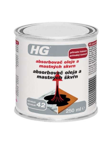 HG absorbovač oleje a mastných skvrn 250 ml