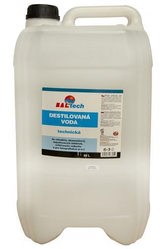 Destilovaná voda pro technické účely 25 l