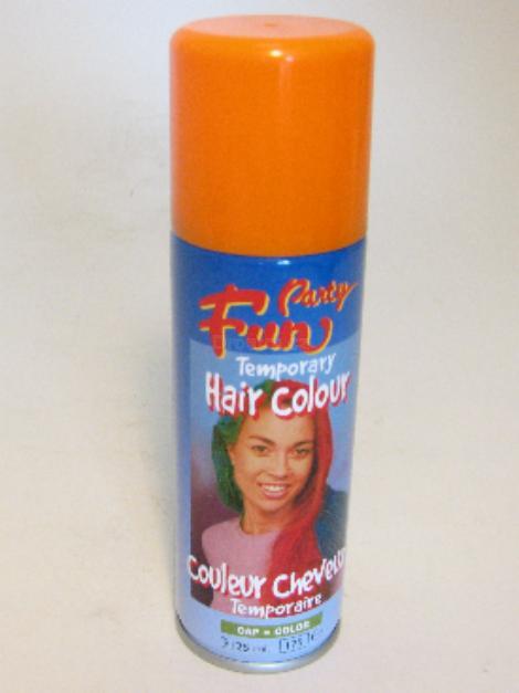 Fun Hair Colour oranžová 125ml