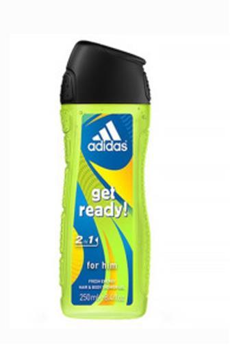 Adidas Get ready! men sprchový gel 3v1 250 ml