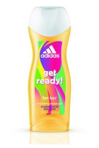 Adidas women get ready! sprchový gel 250 ml