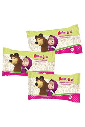 Máša a medvěd vlhčené ubrousky 15 ks