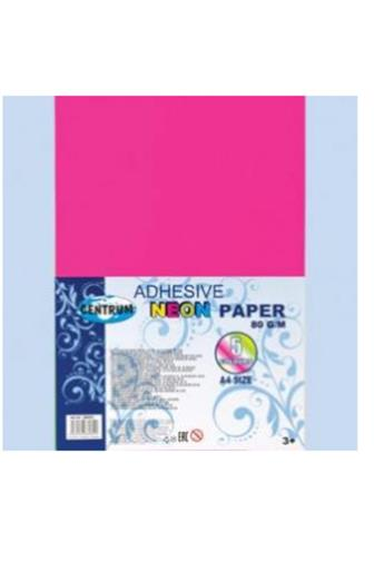Barevný papír A4 samolep. mix barev Neon 5 ks