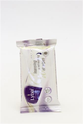 Lybar original Vlhčené ubrousky antibakteriální 15 ks