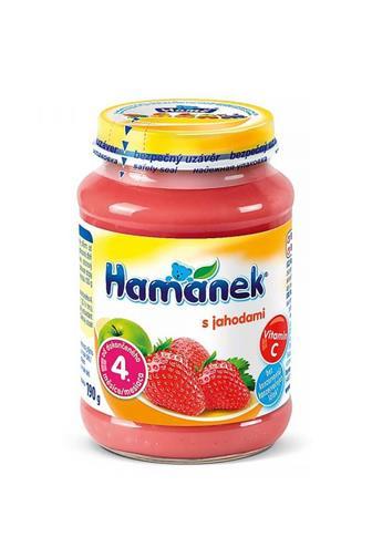 Hamé Kojenecká výživa s jahodami 190 g