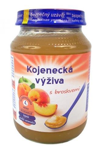 Hamé Kojenecká výživa s broskvemi 190g