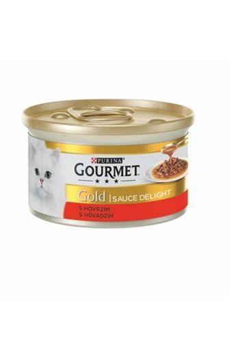 Gourmet gold hovězí kousky v omáčce 85g