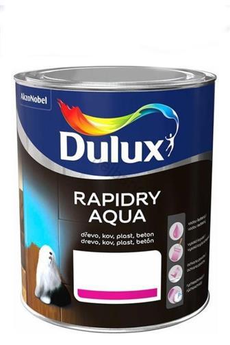 Akzo Nobel Dulux Rapidry Aqua černá satin 0,75 l