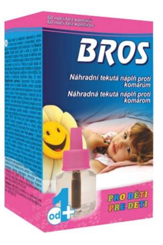 Bros Kids tekutá náplň proti komárům až 60 nocí 40 ml
