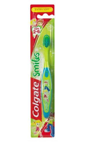Colgate Smiles Extra Soft 2-6 let dětský zubní kartáček