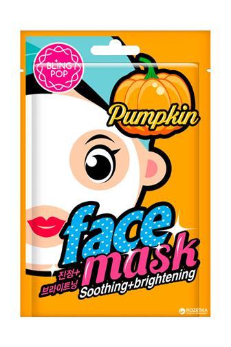 Bling Pop Pumpkin pleťová maska dýňový extrakt 20 ml