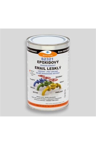 Sinepox S2321 epoxidová vrchní barva lesklá šedˇstřední 1100 set 1.4kg