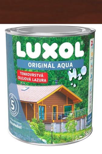 Akzo Nobel Luxol Aqua tenkovrstvá olejová lazura švédská červeň 0,75 l