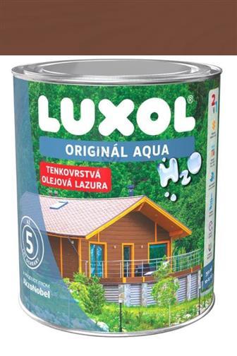 Akzo Nobel Luxol Aqua tenkovrstvá olejová lazura ořech 0,75 l