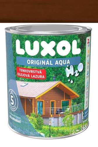 Akzo Nobel Luxol Aqua tenkovrstvá olejová lazura šedý dub 0,75 l