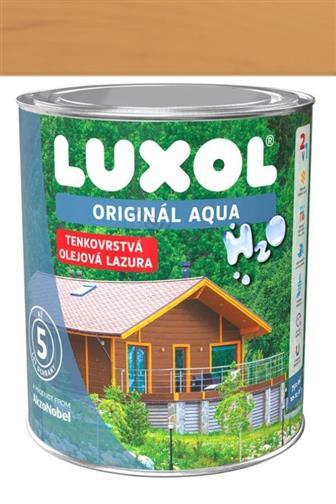 Akzo Nobel Luxol Aqua tenkovrstvá olejová lazura lípa 0,75 l