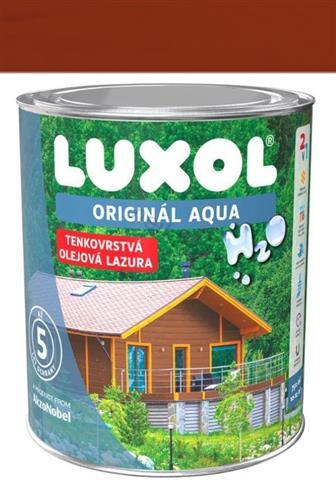 Akzo Nobel Luxol Aqua tenkovrstvá olejová lazura mahagon 0,75 l