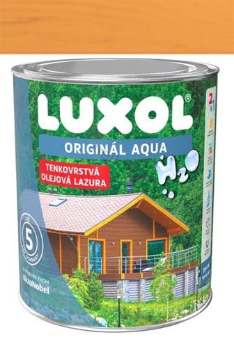 Akzo Nobel Luxol Aqua tenkovrstvá olejová lazura oreg. pinie 0,75 l